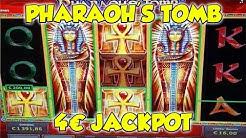 Pharaoh's Tomb JACKPOT auf 4€ - FREISPIELE Online Spielothek - Novoline, Merkur HD