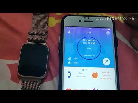 Pareamento Do Smartwatch T80 Com O IPhone