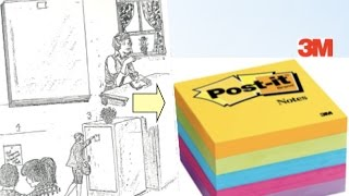 HOW STICKY NOTES WERE INVENTED - 3 min video...