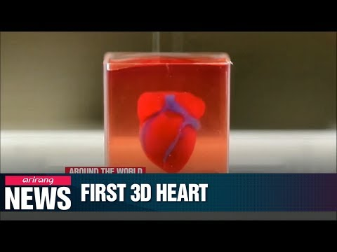 Israeli researchers print world's first 3D heart with blood vessels using patient's cells