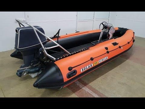 Лодка СОЛАР 470 Jet Strela ОБЗОР тюнинга лодки пвх │ стихия воды абакан