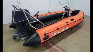 Лодка СОЛАР 470 Jet Strela ОБЗОР тюнинга лодки пвх  стихия воды абакан