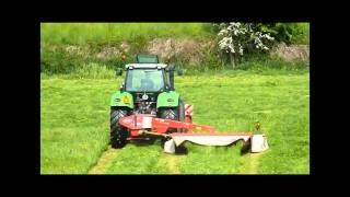 Deutz Fahr M650 and Kuhn mowers