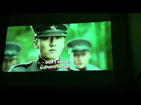 "Canon Projector Actual Video Sample in HD ""Shaolin"""