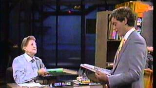 Repeat youtube video NBC bookmobile on Late Night with David Letterman NBC 1980's