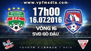 Binh Duong vs Than Quang Ninh full match