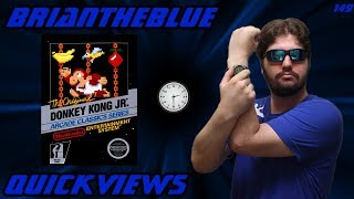 Donkey Kong Jr. Nes - Briantheblue Quickviews Episode 149