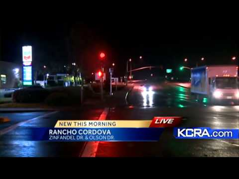Red light camera activated in Rancho Cordova
