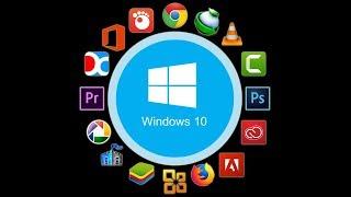 افضل واهم البرامج التي يحتاجها الكمبيوتر بعد تثبيت ويندوز 10