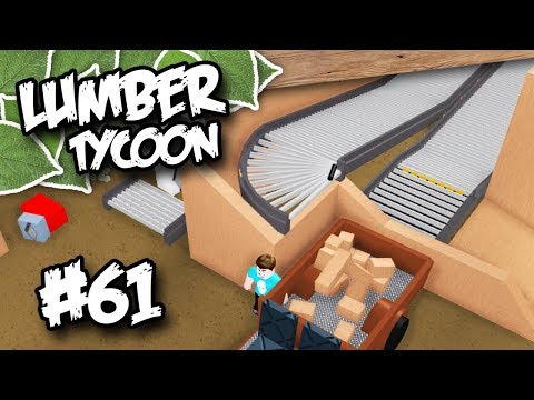 Lumber Tycoon 2 #61 - WOOD DROP OFF SYSTEM (Roblox Lumber Ty