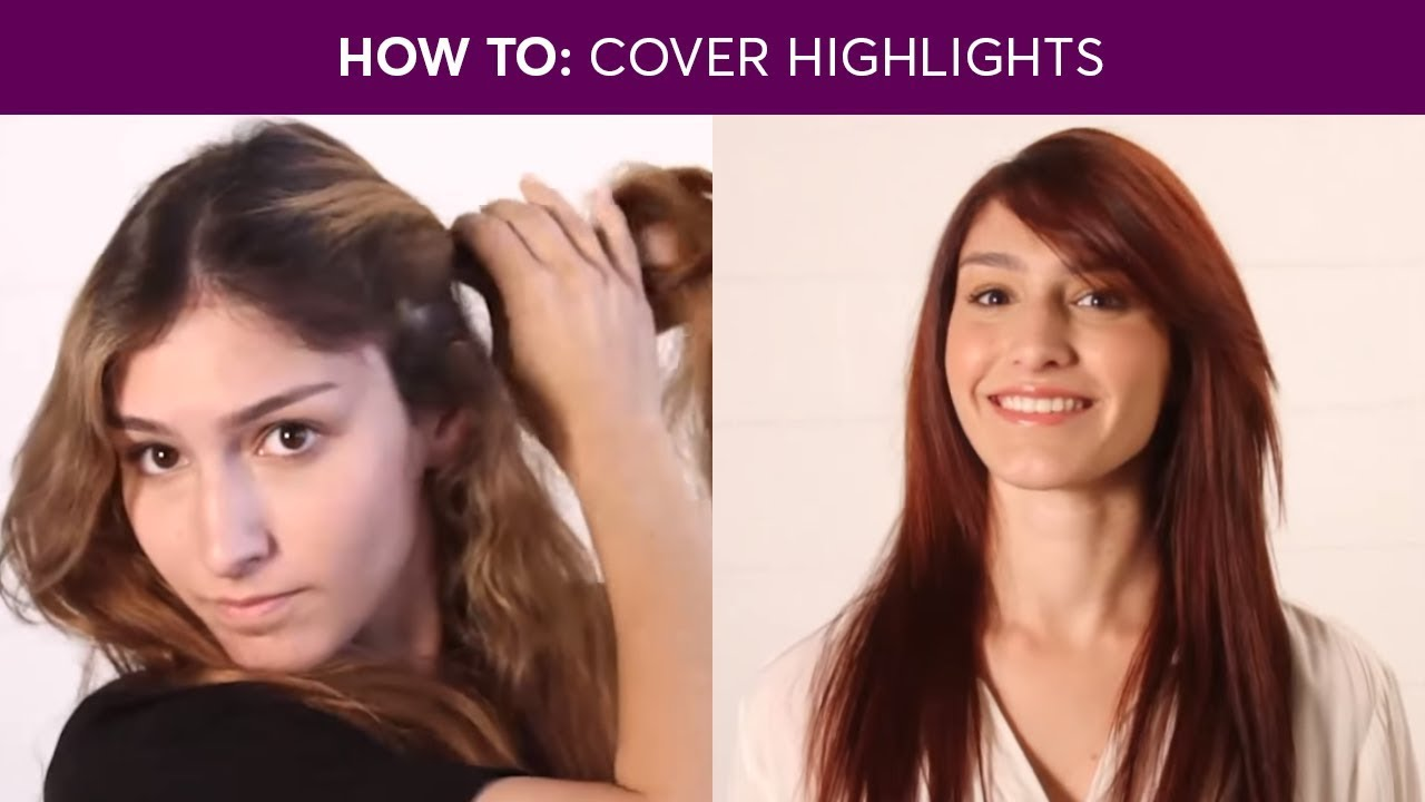 How To Cover Highlights Madison Reed Youtube