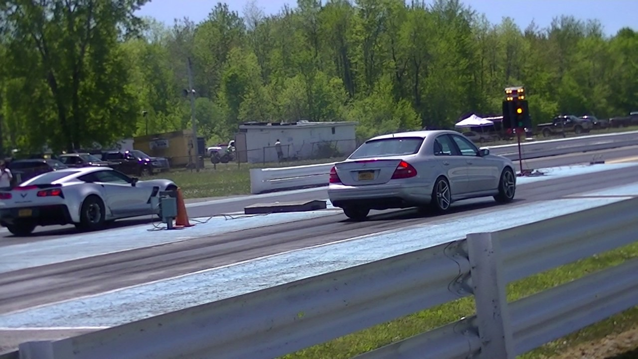 e55 amg goes 11s on just a pulley and tune eurocharged