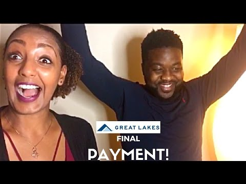 VLOG #1: FINAL GREATLAKES STUDENT LOAN PAYMENT!!!