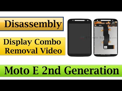 Moto E 2nd generation disassembly