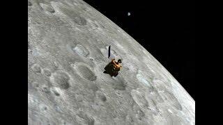 Chandrayaan-1 Captures Lunar Surface
