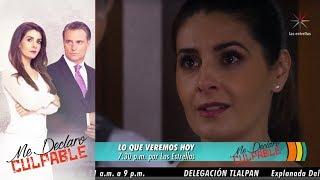 Me declaro culpable | Avance 21 de noviembre | Hoy - Televisa
