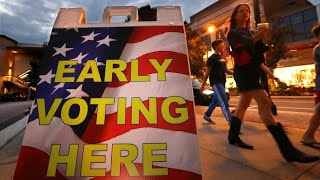 Early voting in Georgia primary elections