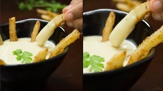 Eggless Mayonnaise Recipe / Delicious Dips N Sauces