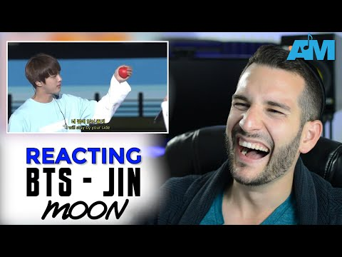 VOCAL COACH reacts to JIN (BTS) singing MOON