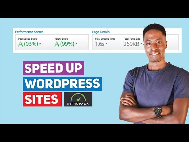 How To Speed Up WordPress Site Tutorial with NitroPack Cloud Optimization Plugin