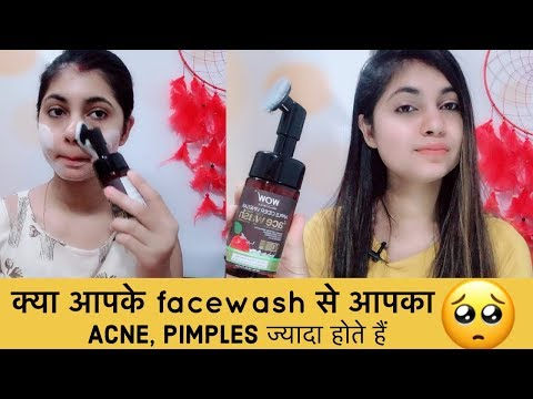 skin-care-mistake!!-don't-do-that-with-acne-skin,-wow-foaming-facewash-with-brush