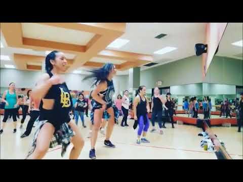 Zumba Class At La Fitness