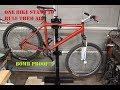 bike service stand from scrap metal.