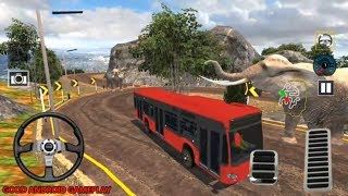 US Offroad Bus Driving Simulator 2018   by Mad Labs Production   Android GamePlay FHD