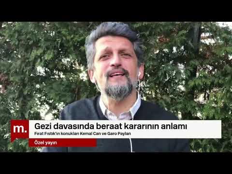 Garo Paylan Ve Kemal Can Ile Gezi Davasında Beraat Kararının Anlamı