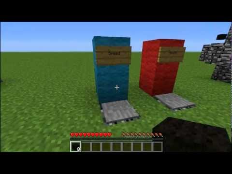 Minecraft 1.2.3 Adventure Map Ideas: Player Aid Devices - YouTube
