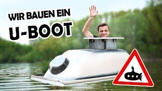 U-BOOT aus unserer BADEWANNE! #1 | Amphibienbadewanne DIY