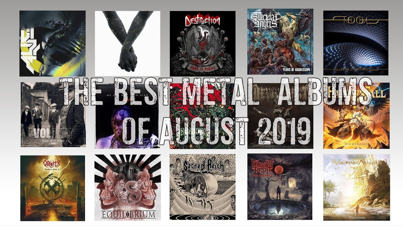 The Best Metal Albums Of August (2019)