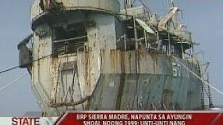 SONA: BRP Sierra Madre, naakyat ng GMA News noong 2002