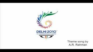 AR Rahman Free Download CWG 2010 Theme mp3 Song Commonwealth Games.flv