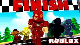 FLASH vs SAVITAR vs ZOOM vs REVERSE FLASH vs KID FLASH! (Roblox Superhero Simulator)