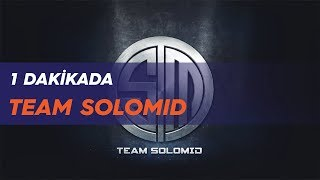 1 dakikada: team solomid (tsm)