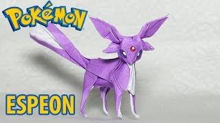 POKEMON - Origami Espeon Tutorial (Henry Phạm)