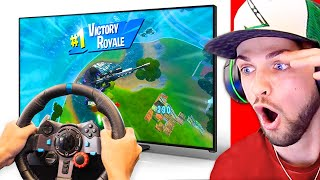 10 *CRAZIEST* Fortnite Wins you'll EVER SEE! (AMAZING)