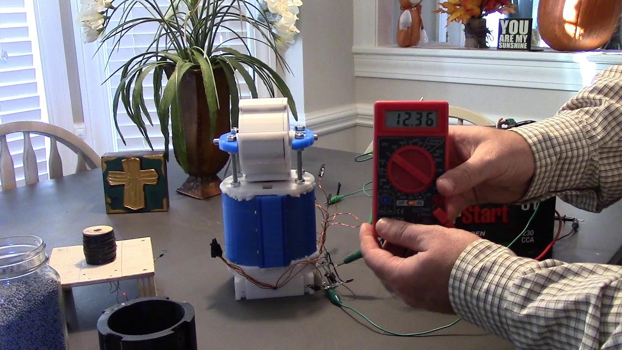 Bedini SG Energizer 3D Printed - YouTube