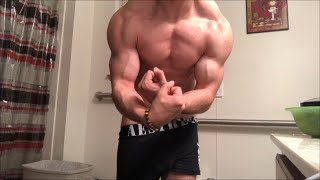Trap and Most Muscular King Jamie Tyler Training and Flexing Stunning Physique