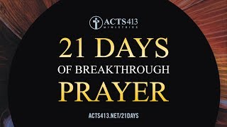 21 Days of Breakthrough Prayer - The Power of Agreement