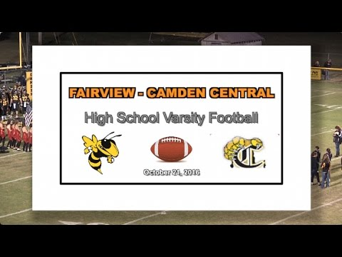 2016 10 21 SPORT FVHS Football vs Camden