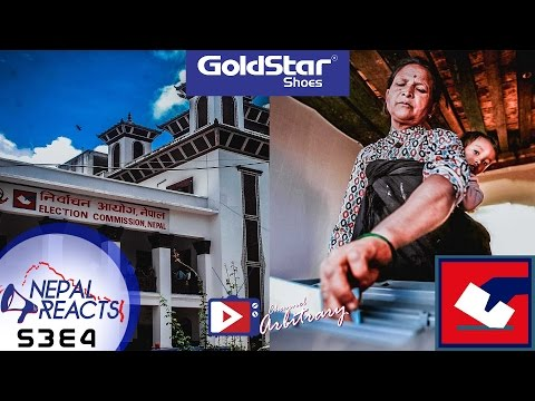 Local Election! Nepal Reacts! Brought to you by Goldstar Shoes | NR S3E4