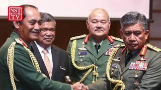 Ahmad Hasbullah Mohd Nawawi is new Army chief