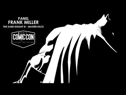 Panel Frank Miller & Brian Azzarello - The Dark Knight III The Master Race
