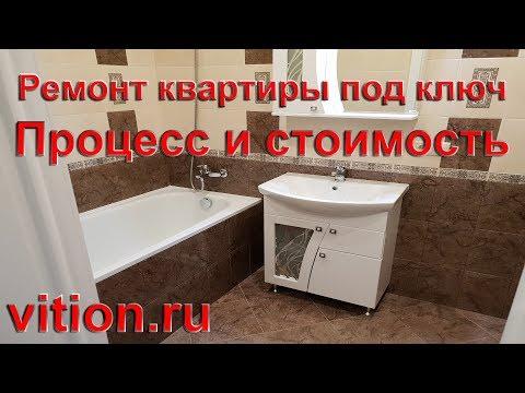 Ремонт квартиры под ключ | Процесс и стоимость | Дизайн интерьера