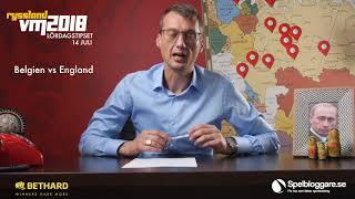 Inför Belgien - England 14/7, VM 2018