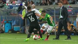 MEXICO VS NUEVA ZELANDA 2 - 1 Copa Confederaciones Rusia 2017 21 JUN 2017