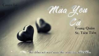 Mùa yêu cũ ( Acoustic) - Trung Quân Idol - Lyrics