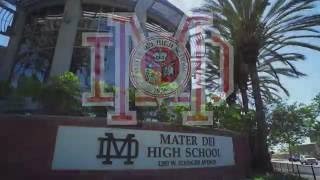 Aerial Tour of Mater Dei High School Campus